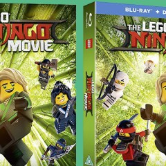The LEGO NINJAGO Movie Blu-ray & DVD Out Now