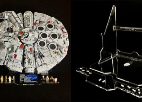 Wicked Brick Releases UCS Falcon Display Stand