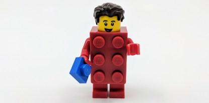 Brick Suit Guy Front