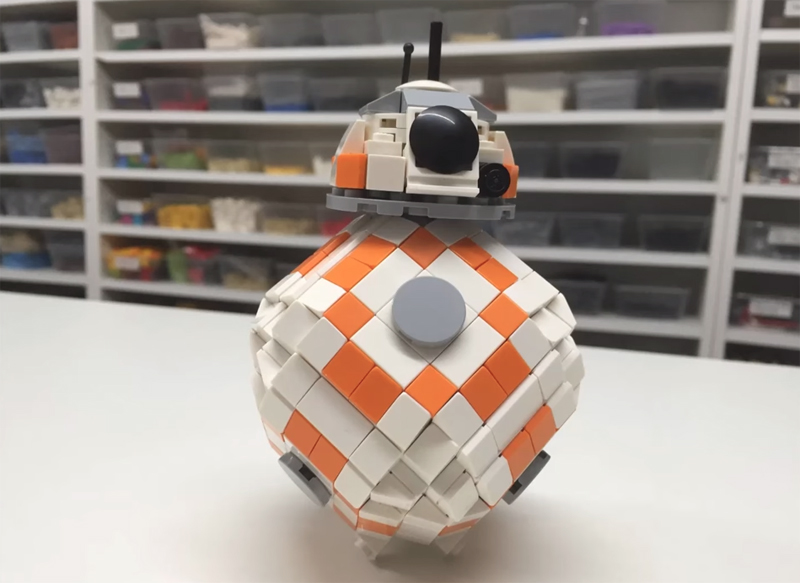 Here's How To Build Your Own Custom LEGO BB-8
