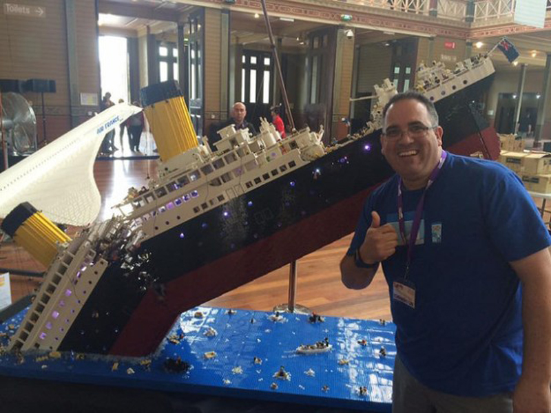 This Spectacular 120,000-piece LEGO Titanic MOC Might Break Your Heart