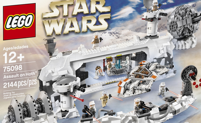 LEGO Star Wars UCS Assault On Hoth (75098) Official Description and Images Released