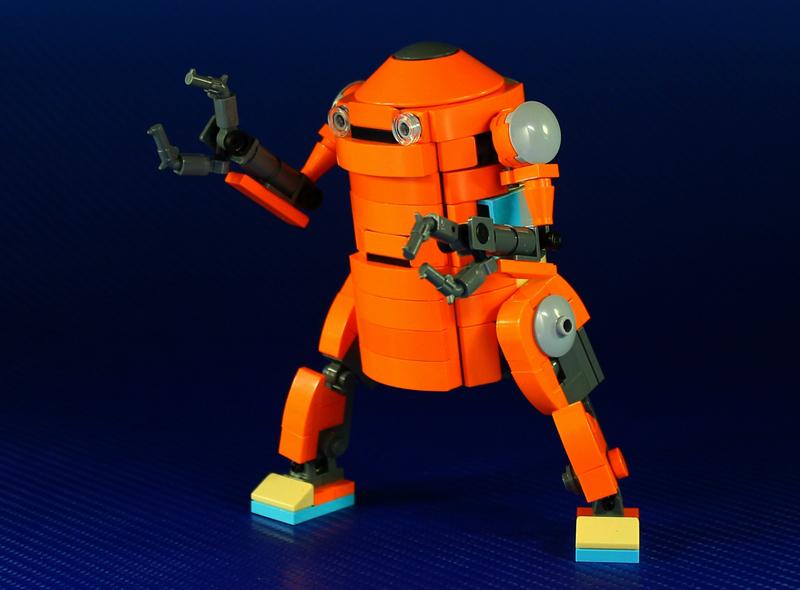 LEGO Mechatrobot