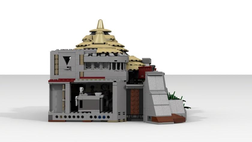 Jurassic Park Visitor Center