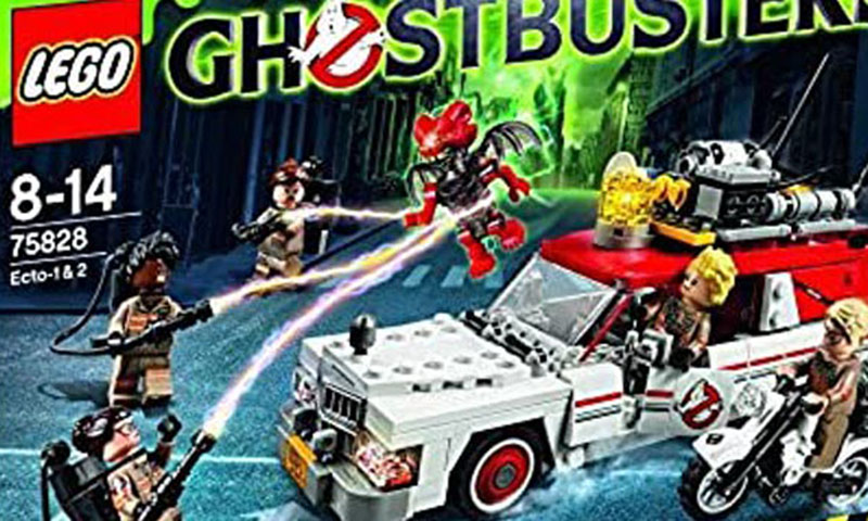 LEGO Ghostbusters Ecto-1 and Ecto-2