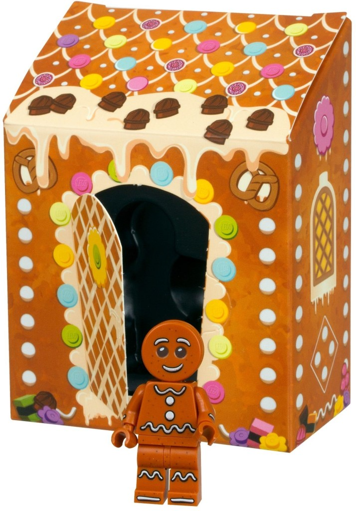 Gingerbread Man Minifigure
