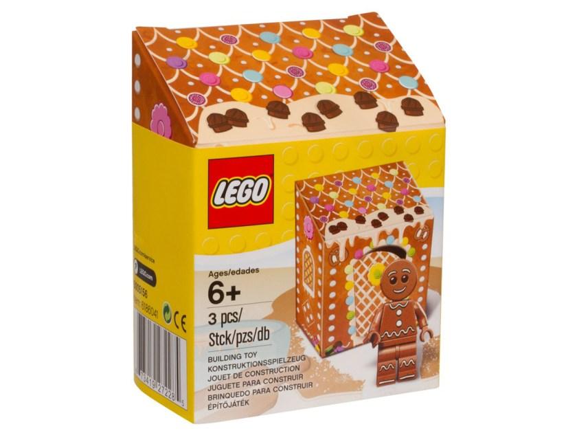 Gingerbread Man Minifigure