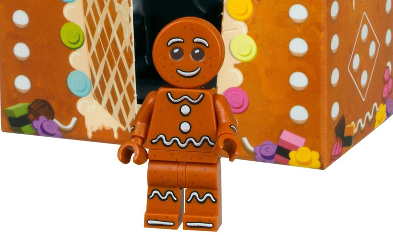 Here's Your Chance to Dunk the LEGO Gingerbread Man Minifigure (5005156) In Your Shopping Basket This December