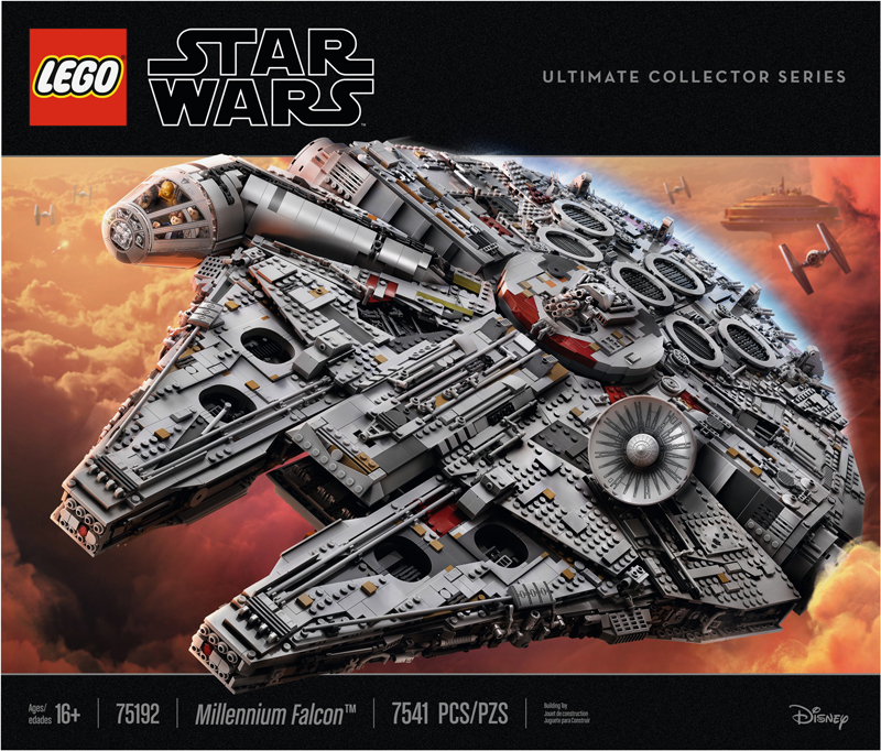 LEGO Fans in London Will Have A Head Start in Being the First Owners of a LEGO Star Wars UCS Millennium Falcon (75192) Set!