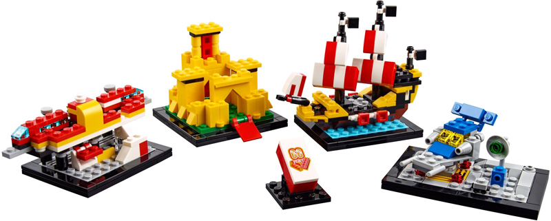 Official Images of 60 Years of the LEGO Brick (40290) Commemorative Set Now Up.