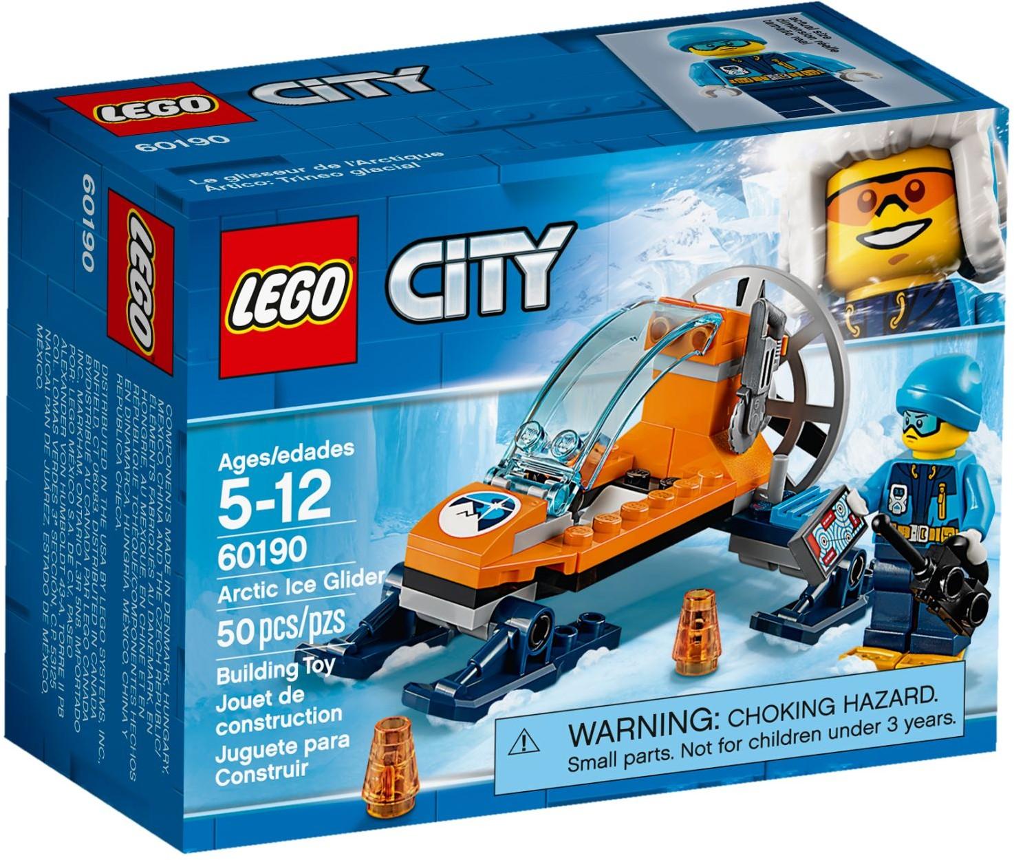Arctic Ice Crawler 60192 200 Pieces LEGO City Arctic Expedition