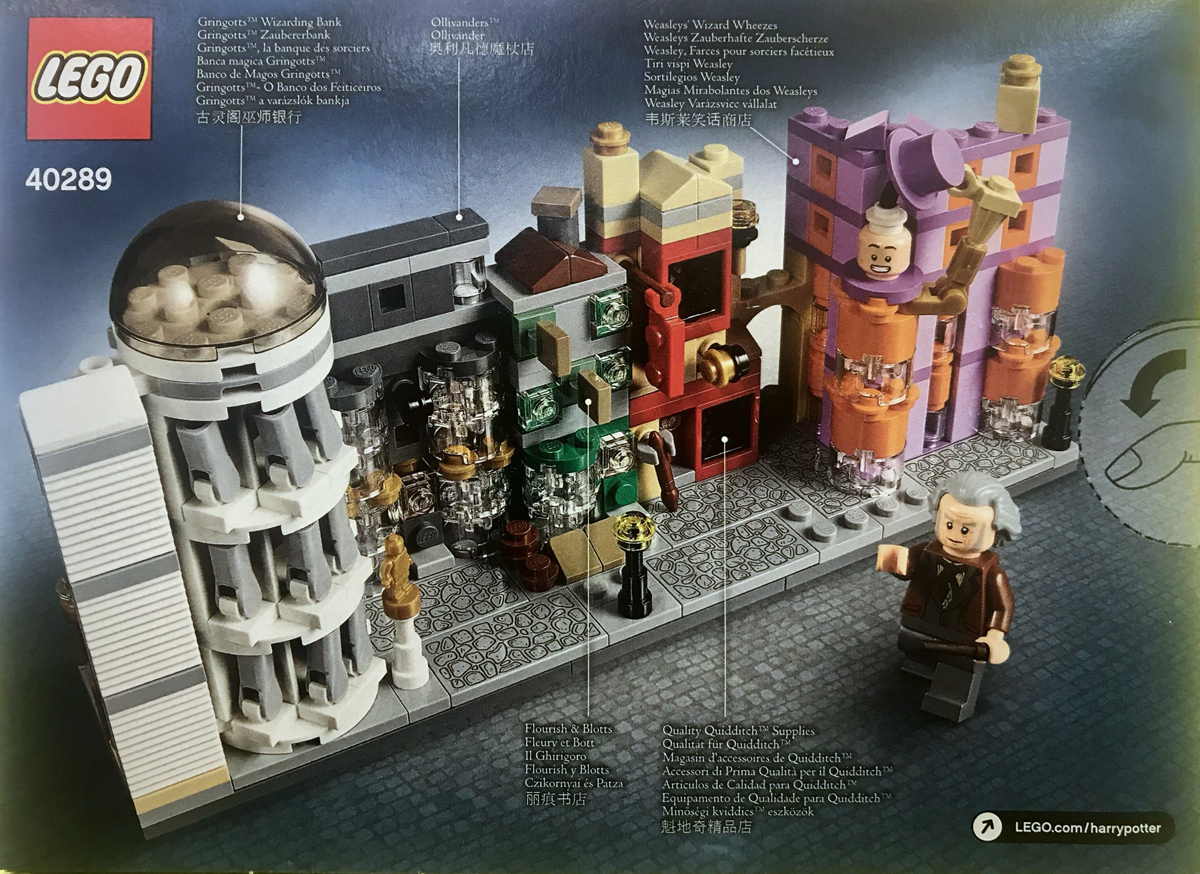 LEGO Harry Potter 10217 Diagon Alley Ollivander Minifigure
