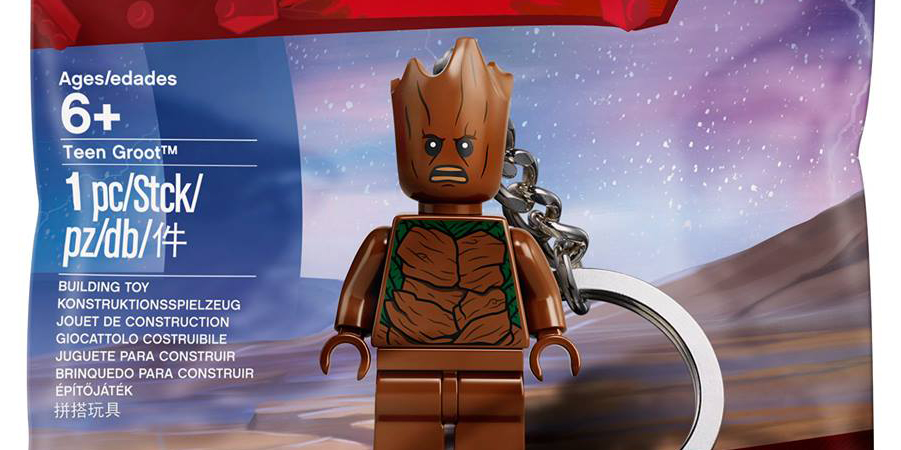 Avengers: Infinity War DVD/Blu-Ray Comes With Free Teen Groot Minifigure Key Chain (5005244) on Sainsbury's this September