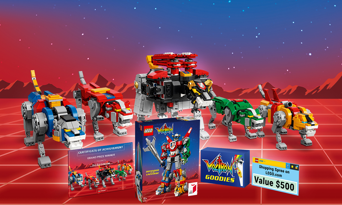 LEGO Ideas Challenges You To Create Your Most Imaginative Voltron Scene