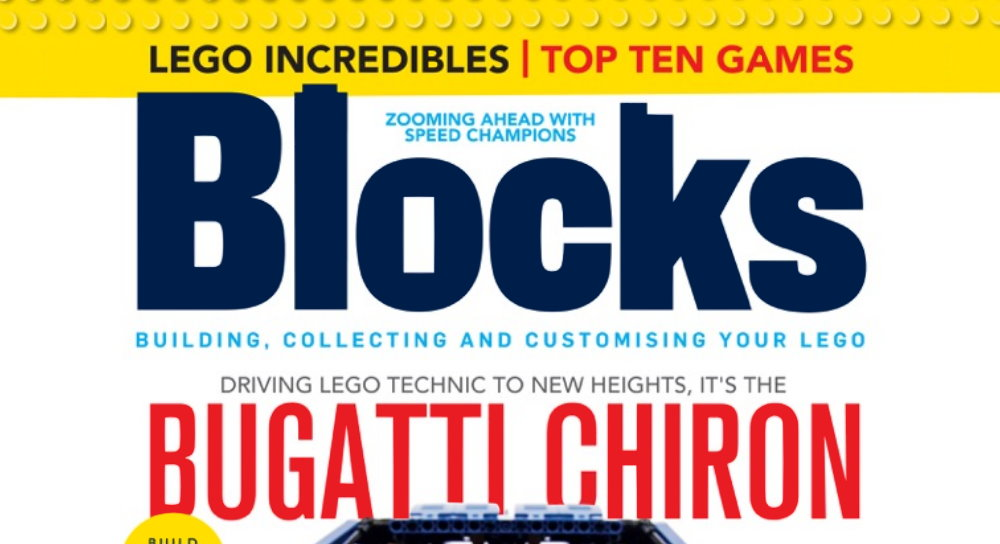 Blocks Magazine Issue 47 Shines Spotlight on LEGO Technic Chiron Bugatti (42083) and Other Goodies
