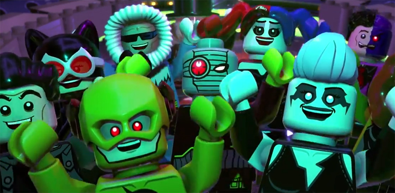 It's Good To Be Bad With The LEGO DC Super-Villains NYCC Panel