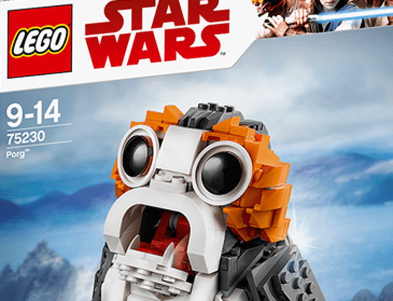 LEGO Star Wars Porg (75230) Set On Discount in Both Amazon and Walmart