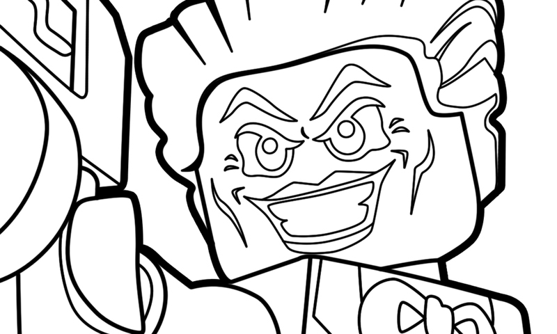 Lego Dc Super Villains Printable Coloring Pages The Brick Show