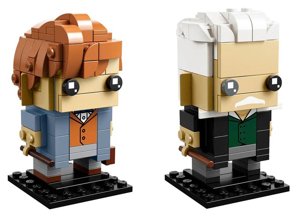 LEGO BrickHeadz Newt Scamander and Gellert Grindelwald (41631) Set Officially Revealed