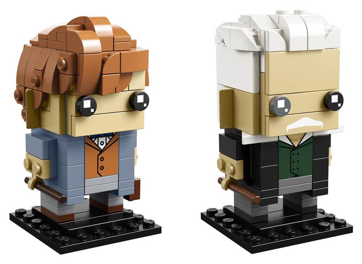 LEGO BrickHeadz Newt Scamander and Gellert Grindelwald (41631)