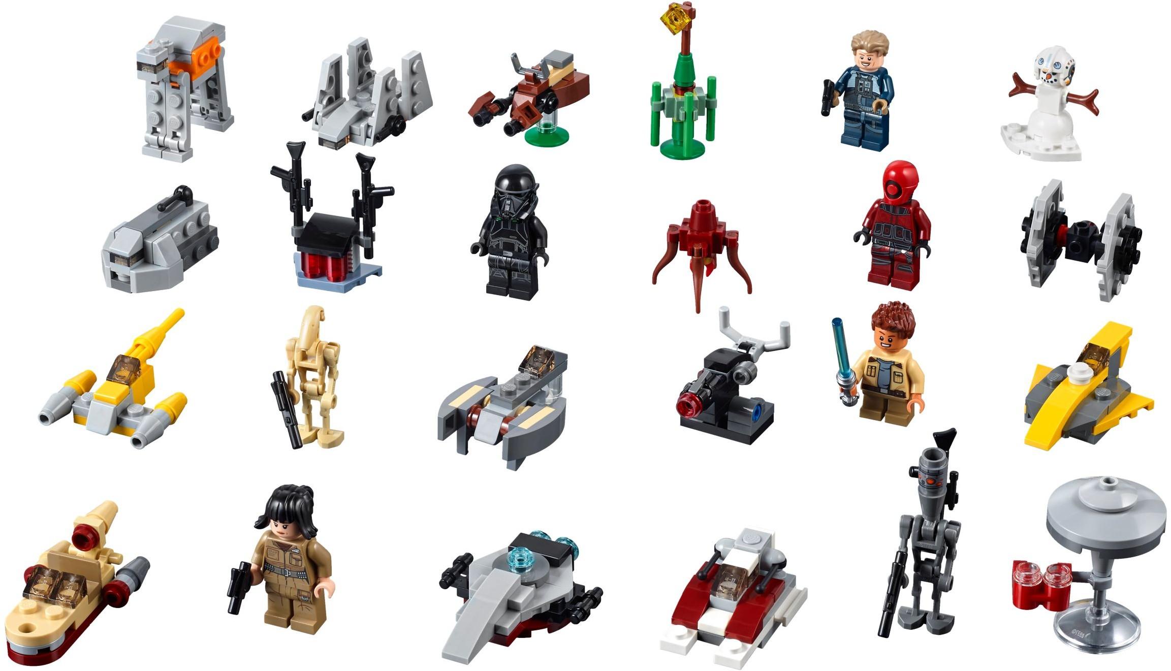 2018 LEGO Advent Calendars Now Available at shop.LEGO.com