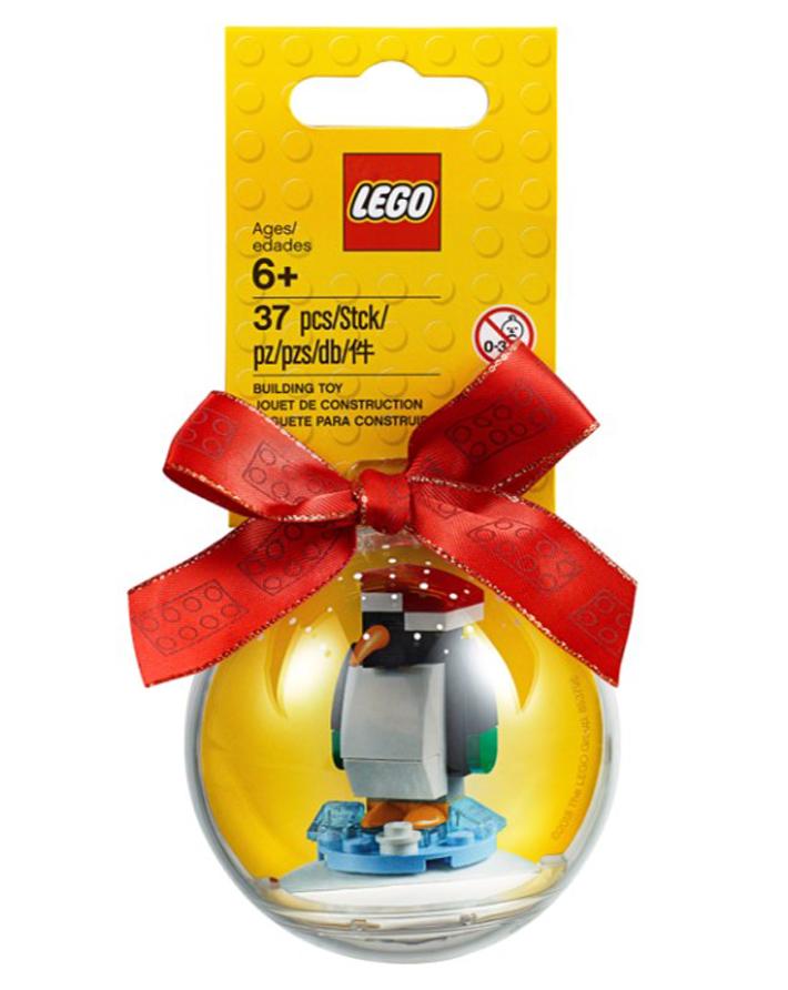 LEGO Christmas Ornament Penguin (853796) - LEGO Seasonal Christmas Ornaments For 2018 Revealed