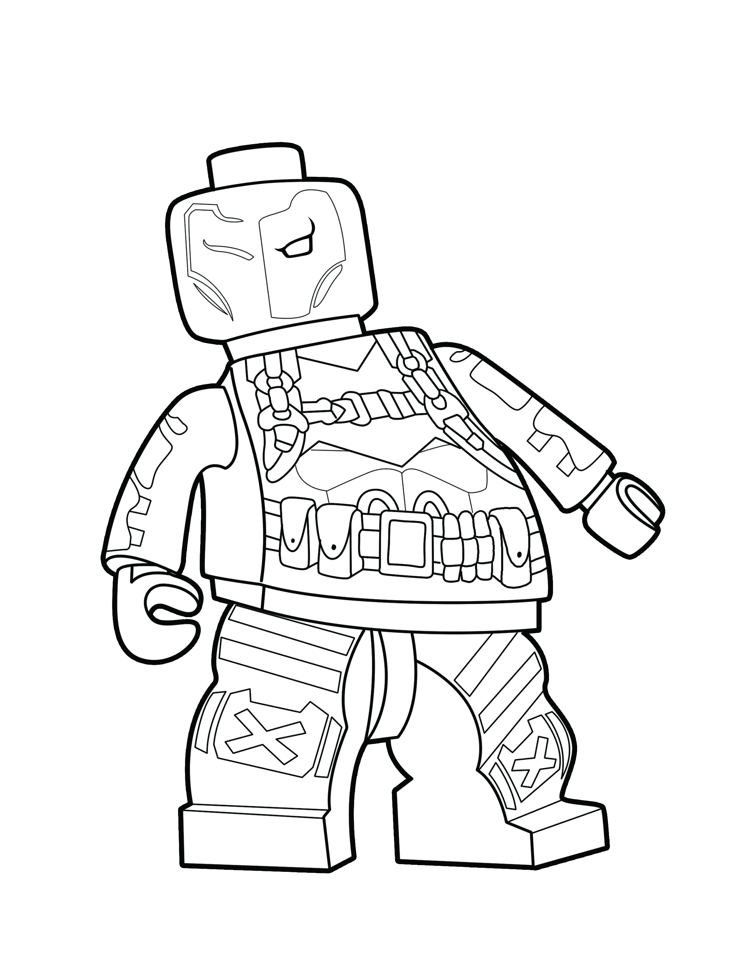 marvel supervillains coloring pages - photo#43