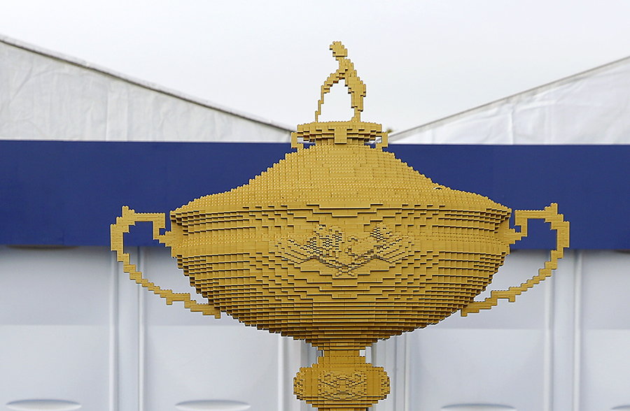 Brick-Built Ryder Cup Trophy