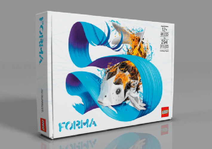 LEGO Forma Building Instructions Now Available Online, Plus PDF Downloads of Skin Patterns