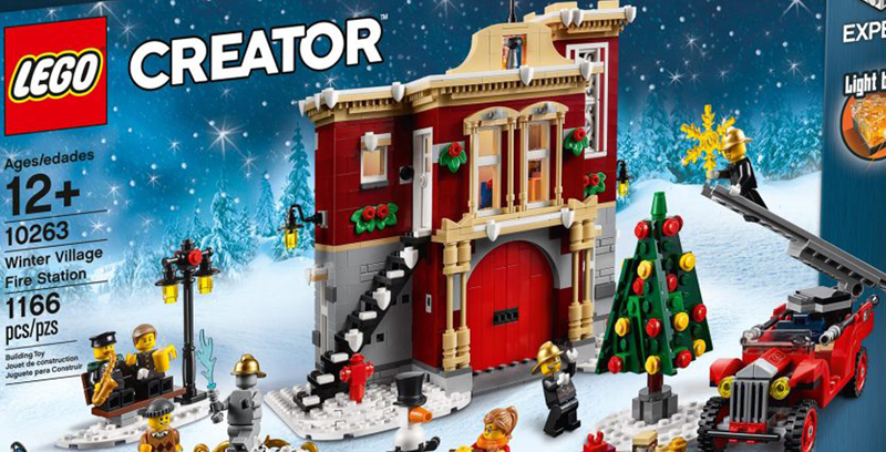 LEGO Creator Expert Winter Village Fire Station (10263) Now Listed at LEGO Shop@Home