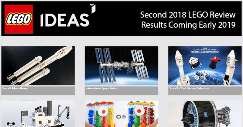 LEGO Ideas Announces 10 Project Qualifiers for its Second 2018 LEGO Ideas Review Stage