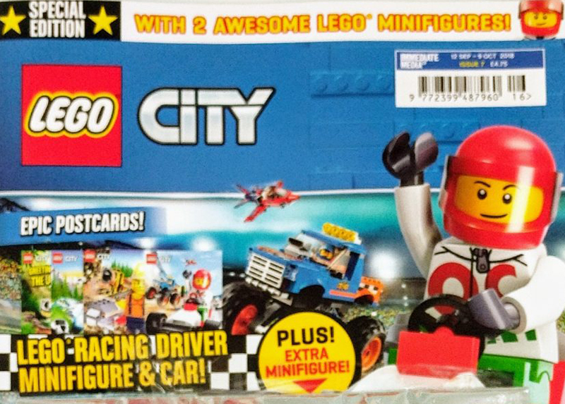 LEGO City Magazine Issue 7 Now Comes With Two LEGO City Freebies