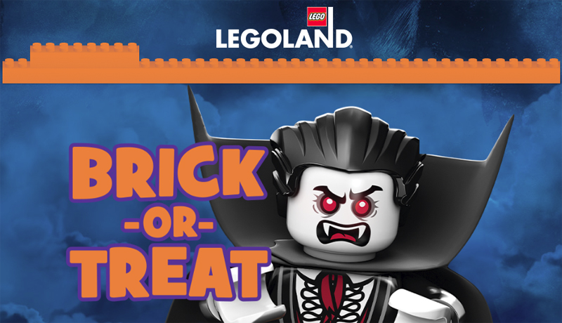 LEGOLAND Brick-or-Treat Party Nights Are Coming Back this Halloween