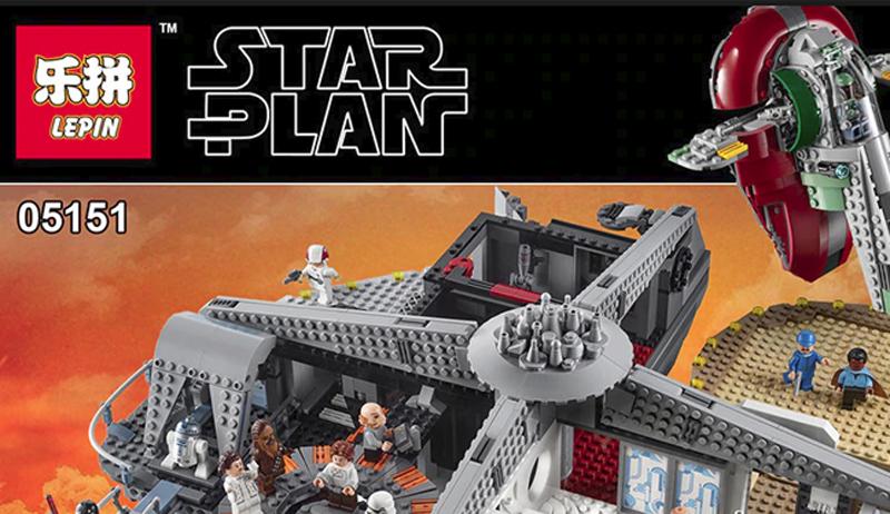 Fake LEGO Star Wars Betrayal At Cloud City (75222)
