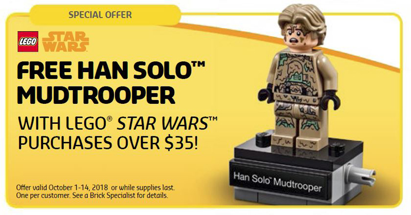 LEGO Star Wars Han Solo Mudtrooper (40300) Minifigure Next Promotional at LEGO Shop@Home