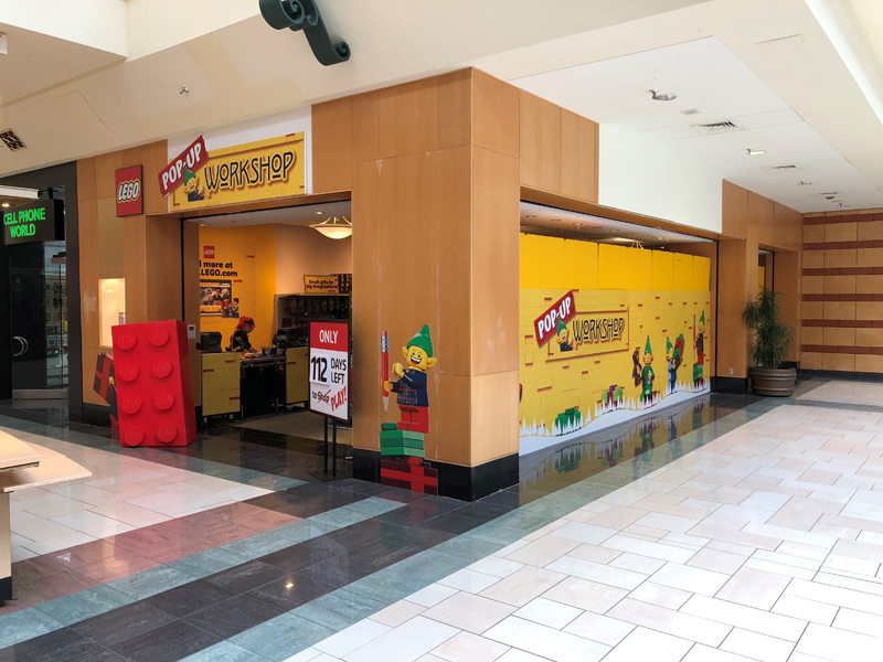LEGO Pop-Up Stores