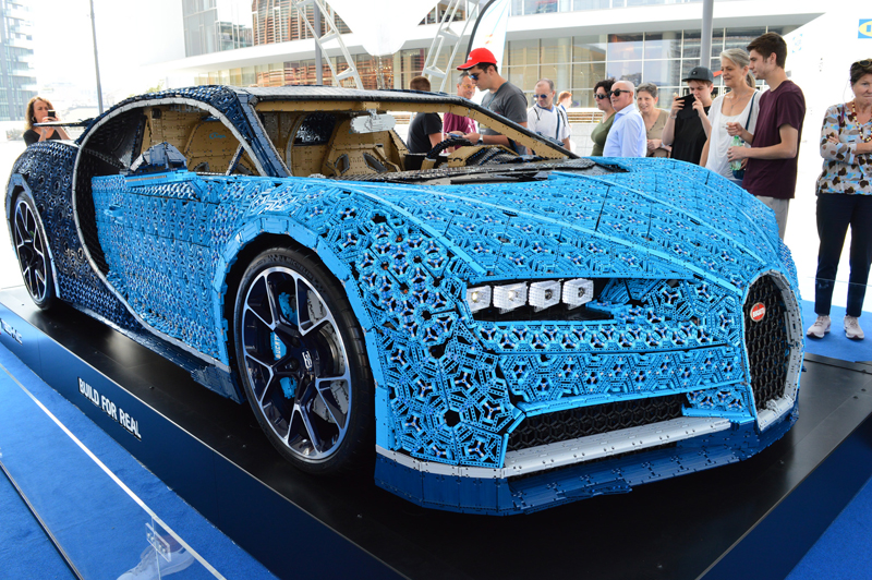 Life-Sized LEGO Bugatti Chiron is Headed to the UK on November