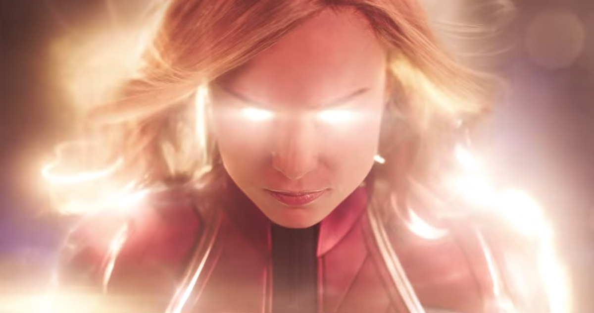 Captain Marvel's official trailer
