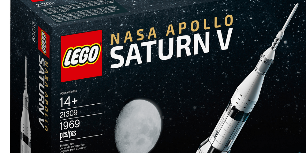 Here's How to Win a LEGO Ideas NASA Apollo Saturn V (21309) From Guinness World Records