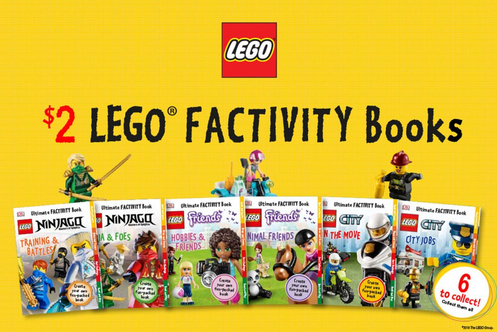 LEGO Factivity Books