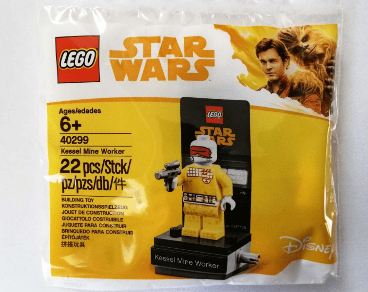 LEGO Star Wars Kessel Mine Worker (40299) Minifigure Spotted for Sale at LEGOLAND California