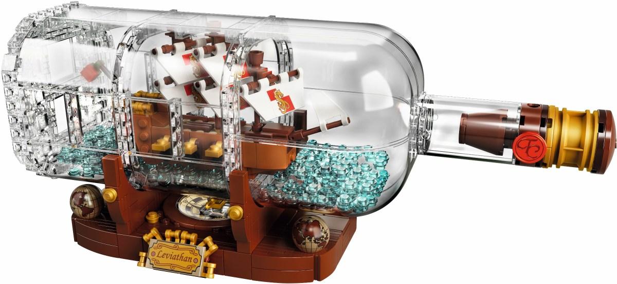 LEGO Ideas Ship in a Bottle (21313) and Marvel Super Heroes Sanctum Sanctorum Showdown (76108) Now at Great Discounts on Amazon