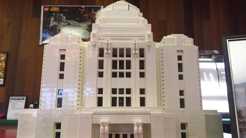 LEGO Model of the Idaho LDS Temple