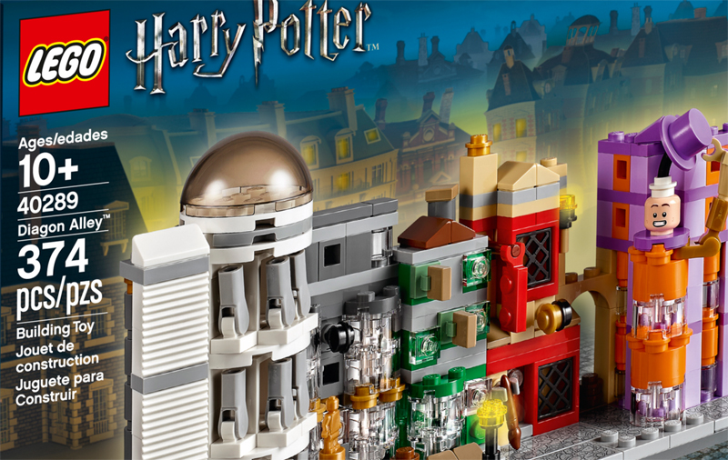 LEGO Harry Potter Diagon Alley (40289) Official Images Released