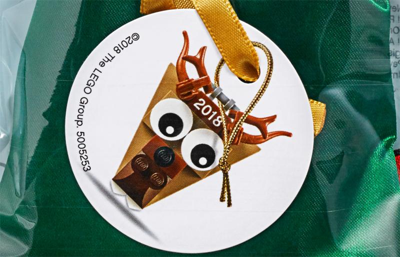 LEGO Christmas Ornament Reindeer Head (5005253)