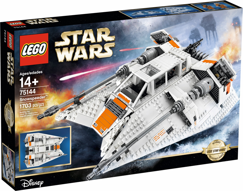 LEGO Star Wars UCS Snowspeeder (75144) Now On Sale at Walmart