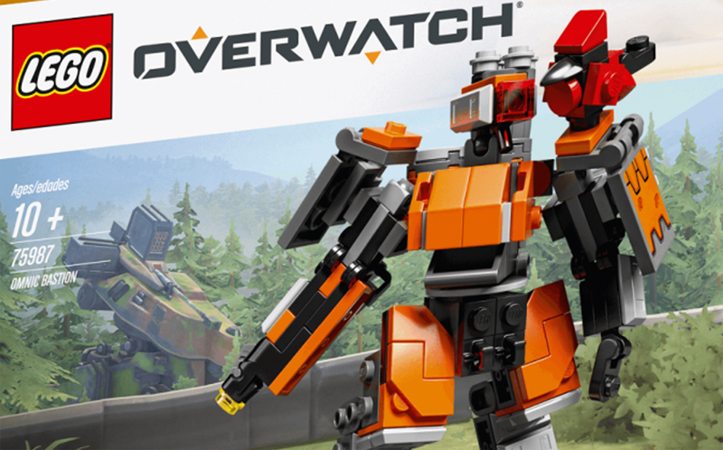Exclusive LEGO Overwatch Omnic Bastion (75987) Revealed