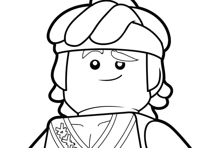 LEGO Ninjago Coloring Page – Cole