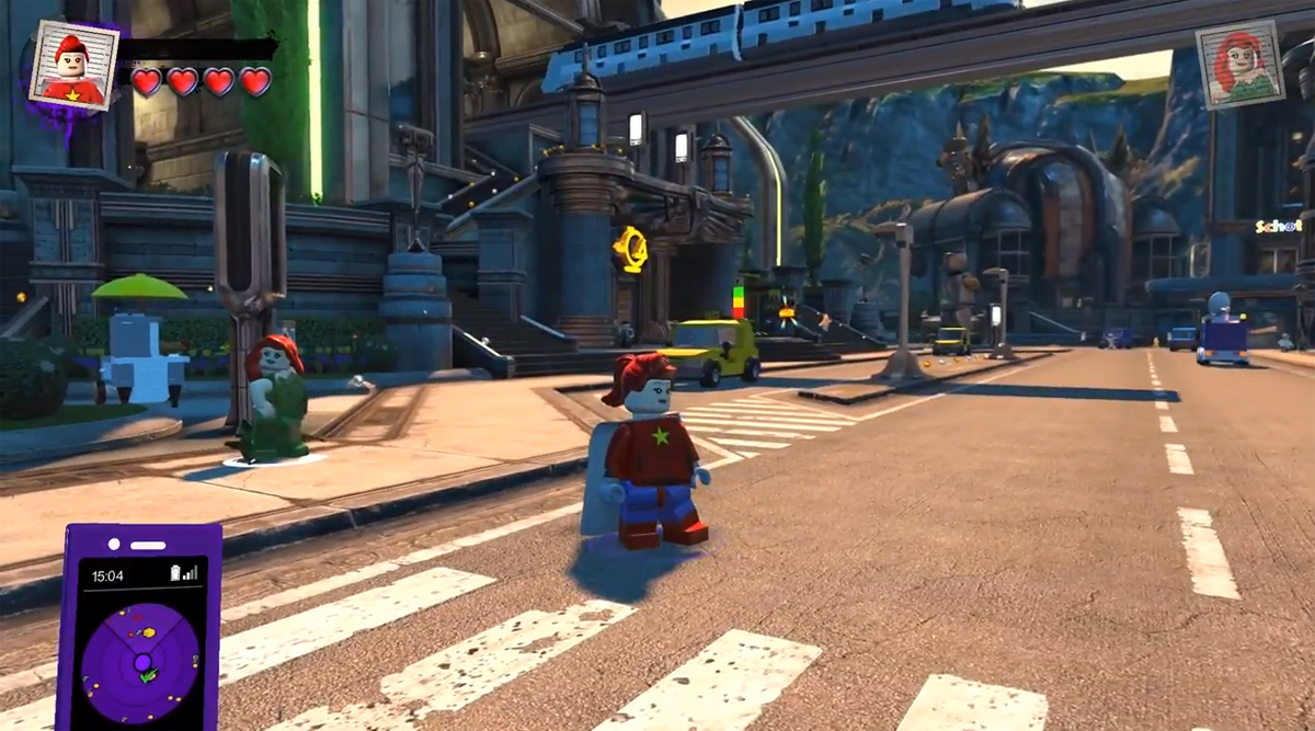 LEGO DC Super Villains Hub World
