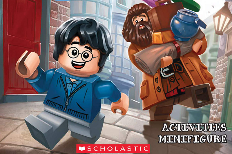 Free LEGO Harry Potter Minifigure Comes With Scholastic's Back To Hogwarts Activity Book